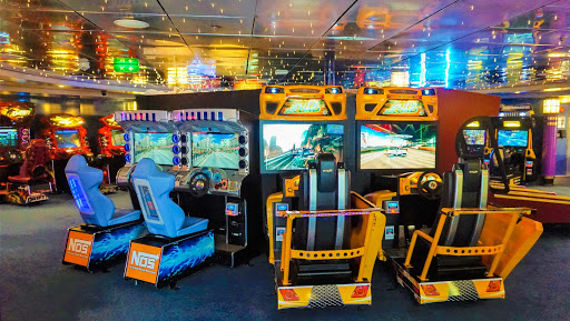 mariner-of-the-seas-arcade.jpg - Kids can get their fill of video games at the Arcade on Mariner of the Seas.