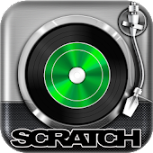 Virtual DJ Mixer Scratch