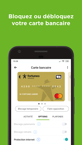 Fortuneo, mes comptes banque & bourse en ligne 8.3.3 Screenshots 5