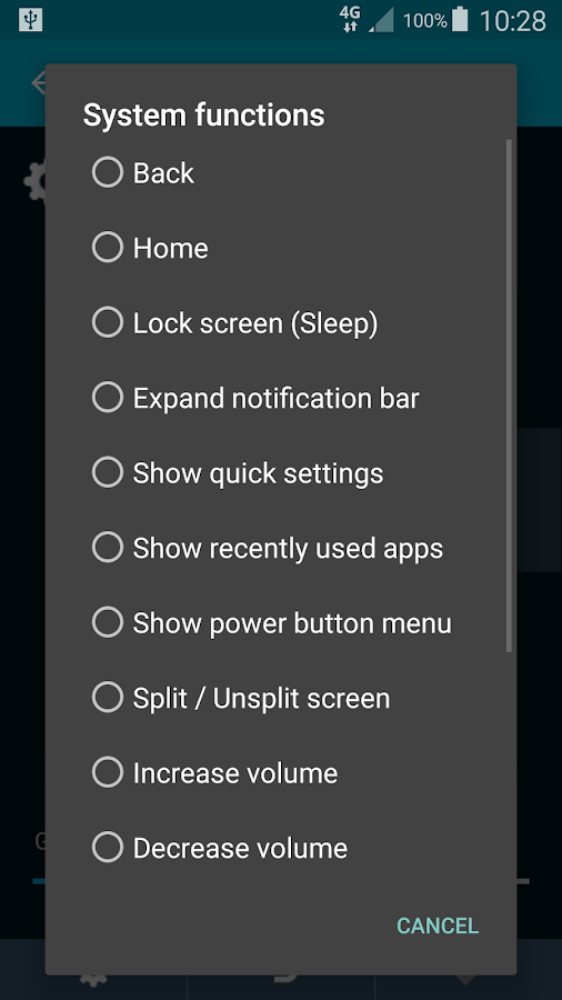 Back Button Gesture Launcher (14-day Full Trial)- screenshot
