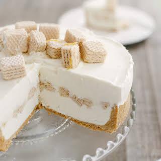No-Churn Cheesecake Ice Cream Cake.