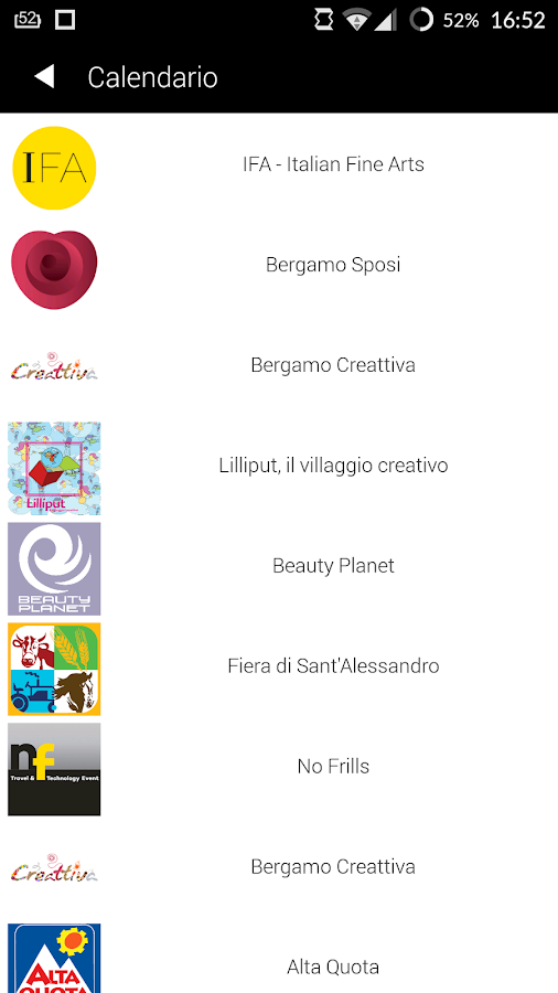 Fiera di Bergamo- screenshot