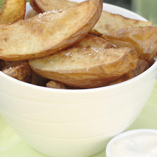 Roasted Potato Wedges with Aioli
