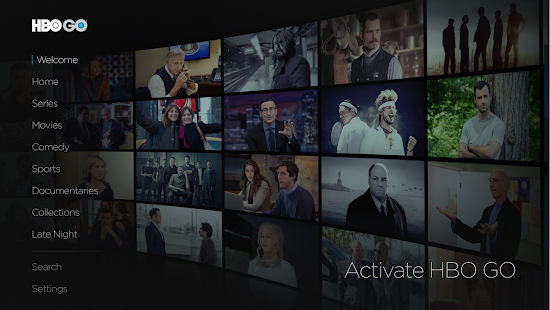 HBO GO Android TV- screenshot thumbnail