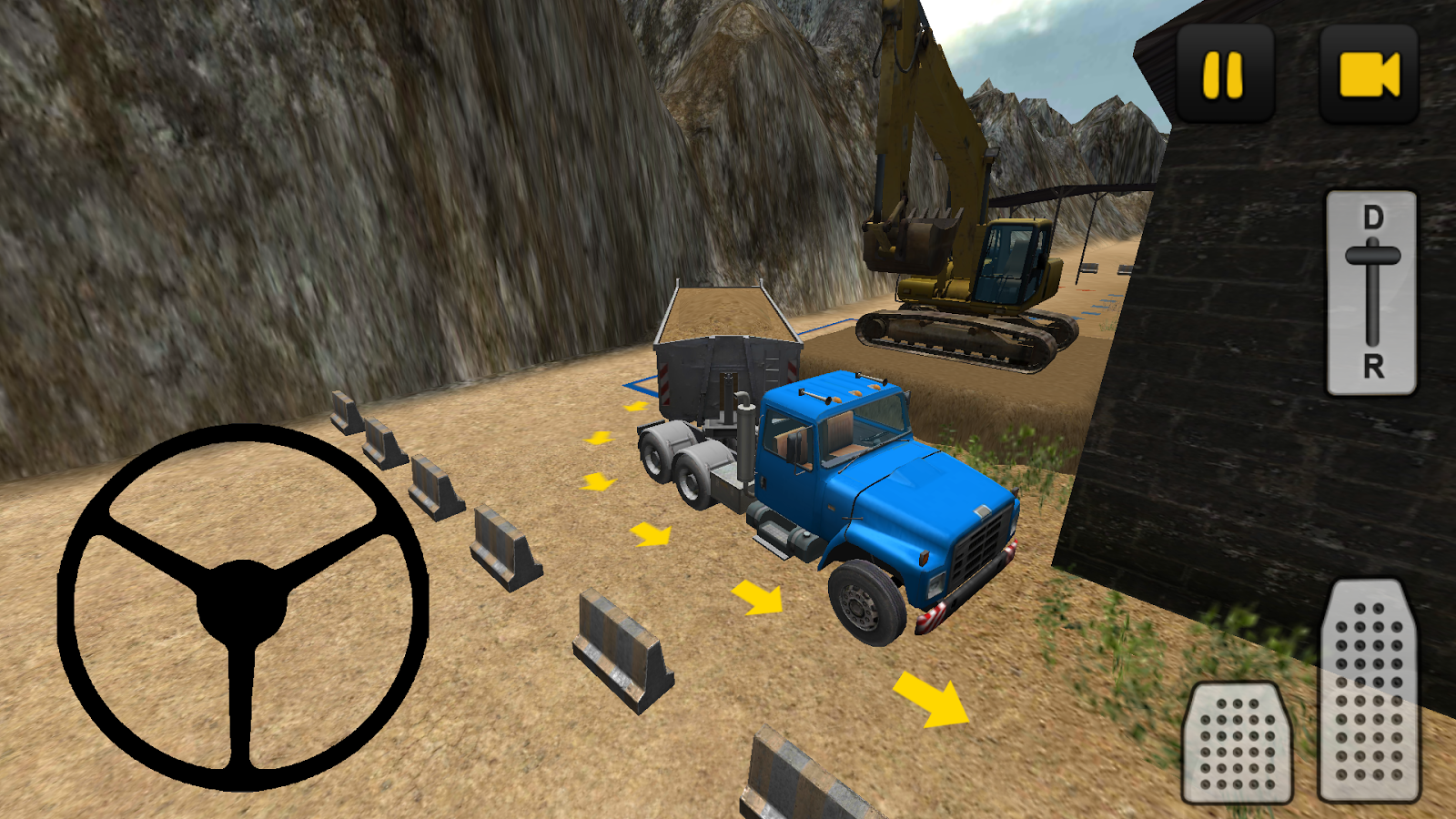 construction truck 3d sand android apps on google play