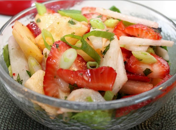Jicama Fruit Salad Recipe