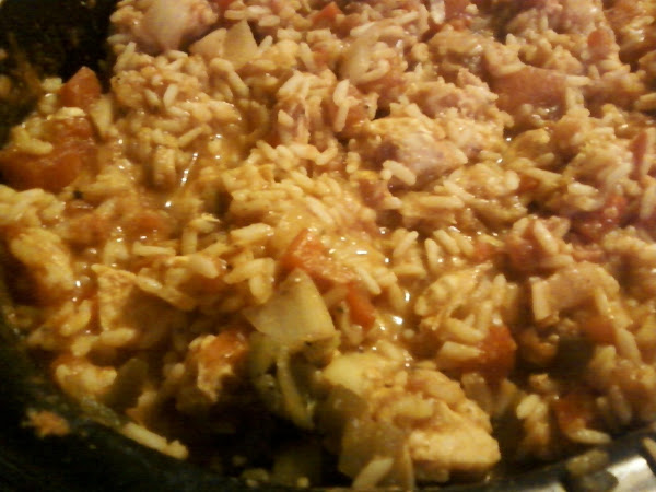 Chicken 'n' Rice (crock Pot) Tex-mex Recipe
