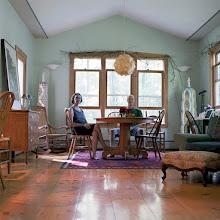 Photo: title: Peter Pettengill & Deborra Stewart-Pettengill, Hinsdale, New Hampshire date: 2011 relationship: friends, art, met through Meghan Brady years known: 5-10