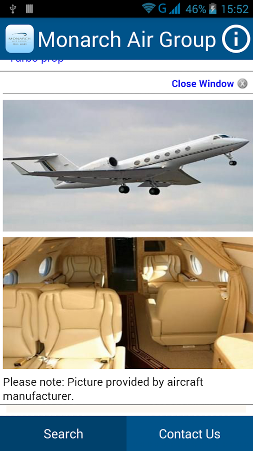 MAG - Private Jet Charter- screenshot