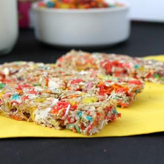 Fruity Pebbles Granola Bars