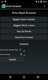 Stock Screener- screenshot thumbnail
