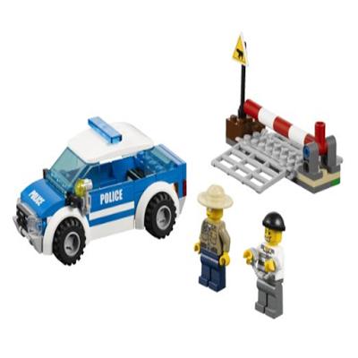 Building Toy Police Kids - screenshot