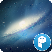 Galaxy Space launcher theme