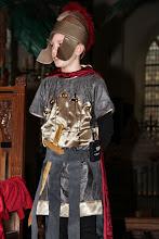 Photo: De Romeinse soldaat (zoon van Ovidius), die het verhaal vertelt
