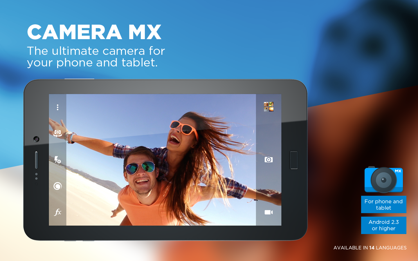 Camera MX - Live Photo App- screenshot