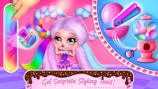 Candylocks Hair Salon - Style Cotton Candy Hair Screenshot