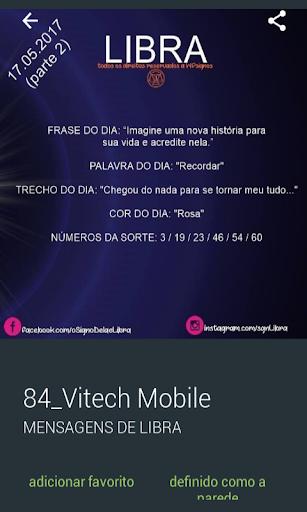 Mensagens de Signos- Libra 2.0.0.0 screenshots 4