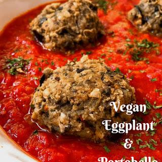 Vegan Eggplant and Portobello Mushroom Meatballs Recipe