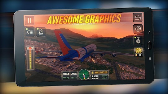 Flight Sim 2018 MOD APK | Flight Sim Unlimited Money APK 7