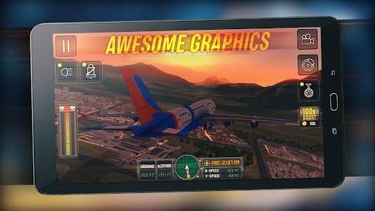 Flight Sim 2018 MOD APK | Flight Sim Unlimited Money APK 7