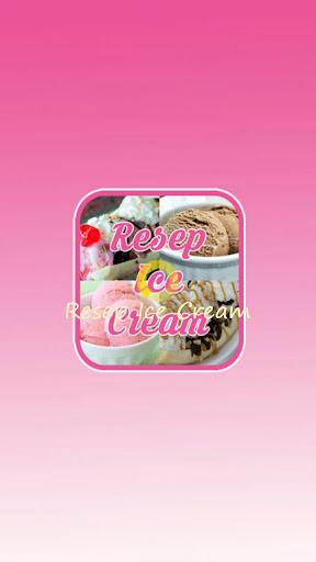 Resep Ice Cream