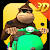 Monkey MOTO Racing 3D file APK Free for PC, smart TV Download