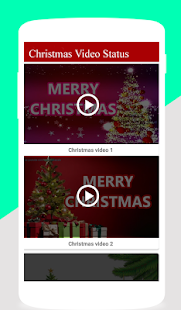 Video Status for Christmas 2018 - náhled