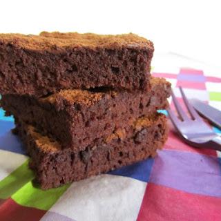 Chocolate Truffle Brownies.