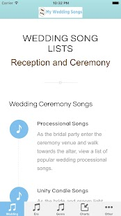 My Wedding Songs - Android Apps on Google Play