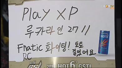 Photo: Play XP Fnatic 화이팅!!!