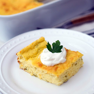 Chile Egg Puff Casserole.