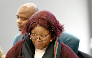 Former ANC MP Vytjie Mentor during the state capture inquiry in Parktown.