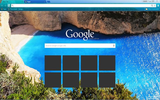 how to set custom themes for google chrome