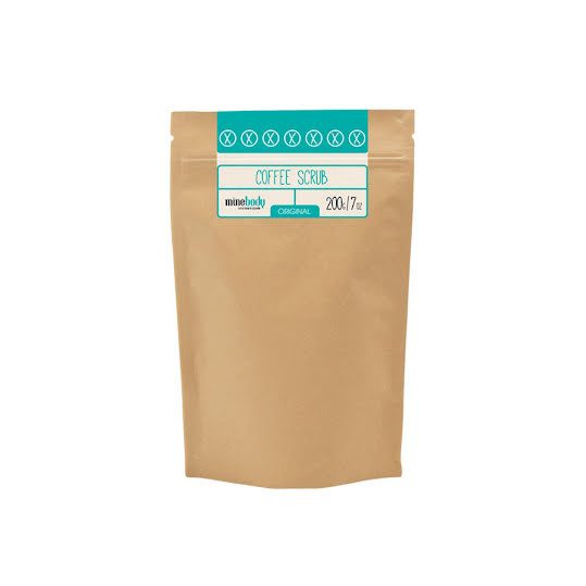 MineTan Coffee Scrub, Orginal 200g