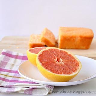 Pink Grapefruit & Rose Cake.
