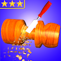 Wood Cutting - Wood Simulator Game icon