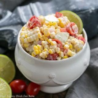 Spicy Mexican Corn Salad.