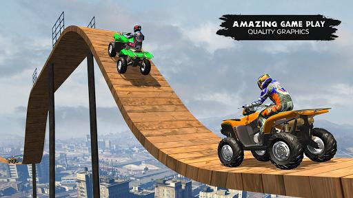 ATV Quad Bike Simulator 2019: Quad stunts Bike 4x4 screenshots 8