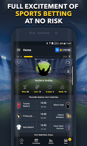 Sports Betting Game - BETUP 1.16 screenshots 1