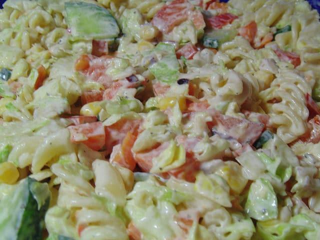 Amish Pasta Salad Recipe