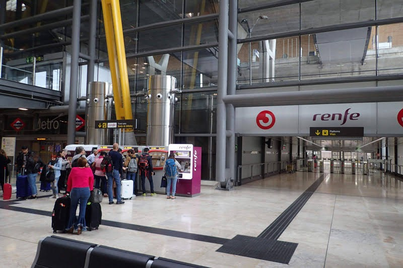 Madrid Airport - Renfe Station