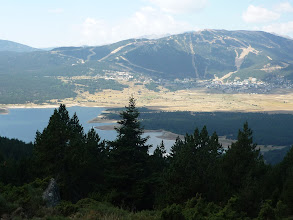 Photo: Lac de Matemale devant Les ANGLES