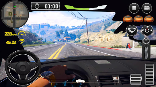 City Driving Ford Car Simulator 1 screenshots 2