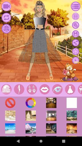 Avatar Maker: Anime Lady screenshot 1