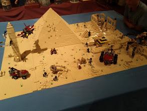 Photo: Pyramid, mummies, mechanical spiders, aeroplanes, sandworms, ...