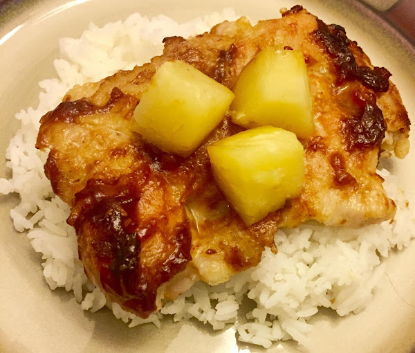 Pineapple Sticky Chicken By Noreen Recipe