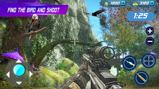 Birds Hunter:Jungle shooting games free  captures d'écran 2