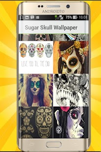 Sugar Skull Wallpaper 8K - náhled
