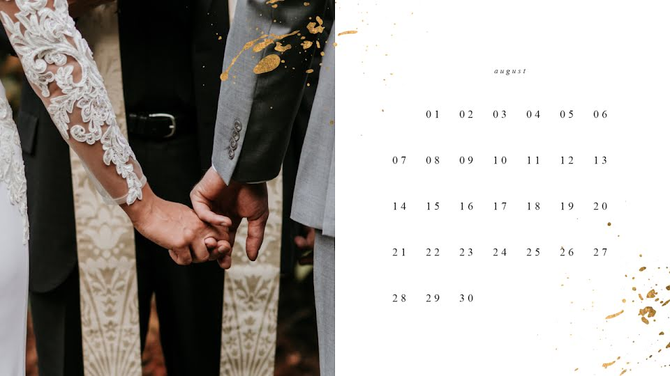 Wedding Monthly - Wedding Template