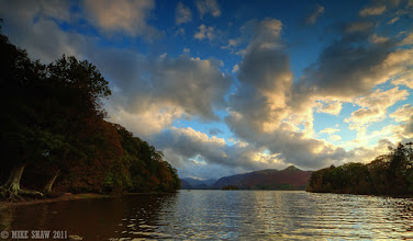 Photo: My contribution for #ThirstyThursdayPics curated by +Giuseppe Basile   This is Lake Derwent in the Lake District UK, sometimes when the clouds are just right you get to watch them paint the sky.
